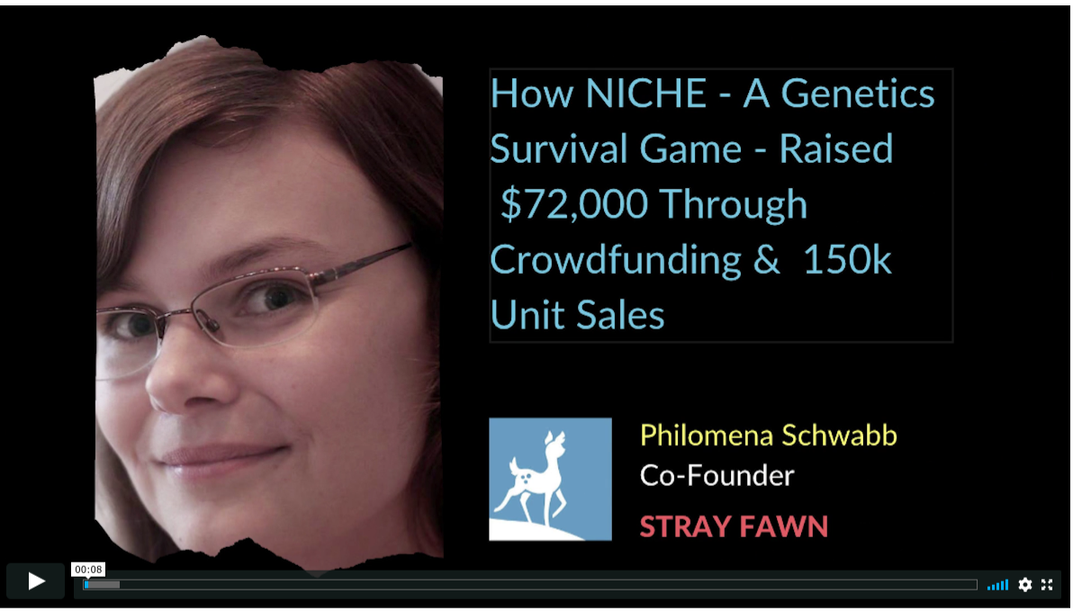 Prototyping, Funding & Launching Niche – a Genetics Survival Game: a Step-by-Step Plan for Crowdfunding $72,000, Building a Newsletter and Achieving 150k Unit Sales