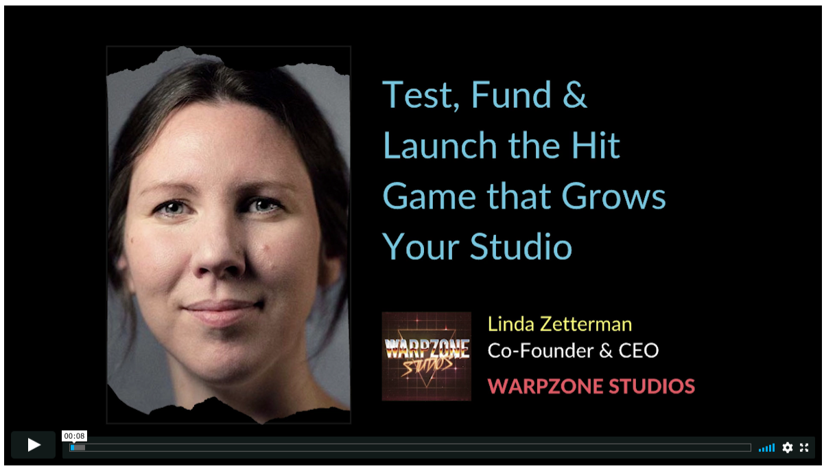 Prototyping, Funding, Launching & Marketing the Hit Game That Grows Your Studio